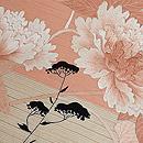 秋草の図刺繍付帯 質感・風合