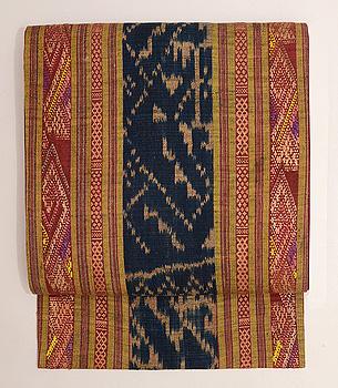ラオス緯浮織の名古屋帯