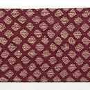 インド金銀紋織名古屋帯 前柄