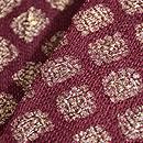 インド金銀紋織名古屋帯 質感・風合