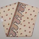 インド フルカリ刺繍の名古屋帯 帯裏