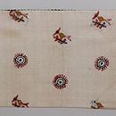 インド フルカリ刺繍の名古屋帯 前柄