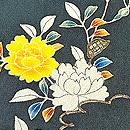 グレー地バラに飾り熨斗名古屋付帯 質感・風合