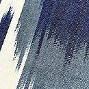 ブルー系アドラスの名古屋帯 質感・風合