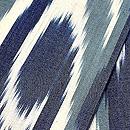 ブルー系アドラス半巾帯 質感・風合