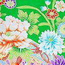 四季の花々尽くし祝い着